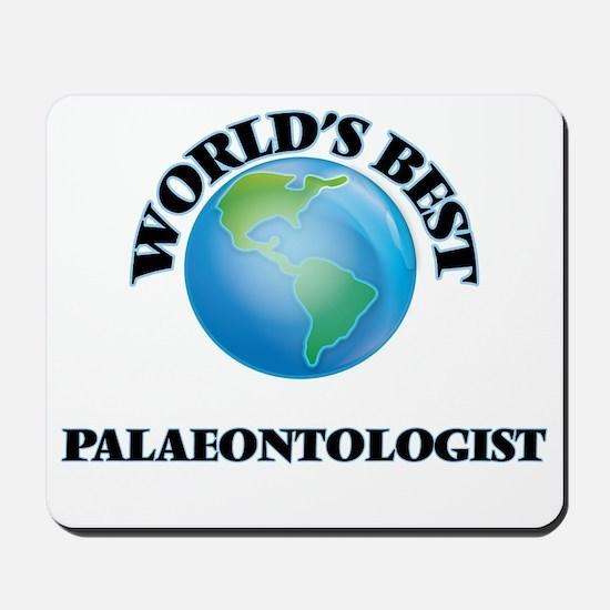 World's Best Palaeontologist Mousepad