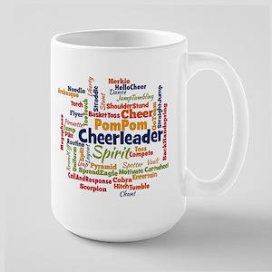 Cheerleading Word Cloud Mugs