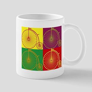 Pop art bicyles Mugs
