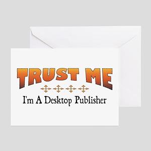 Trust Desktop Publisher Greeting Cards (Package of