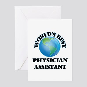 World's Best Physician Assistant Greeting Cards