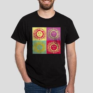 Pop art Sun face T-Shirt