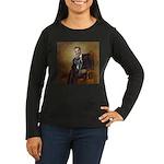 Obama - French Bu Women's Long Sleeve Dark T-Shirt