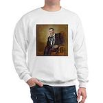 Obama - French Bulldog (BW-RedC) Sweatshirt