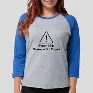 Error 404 Halloween Costume Not Found Long Sleeve