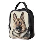 German Shepherd Neoprene Lunch Bag