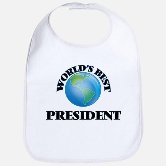 World's Best President Bib