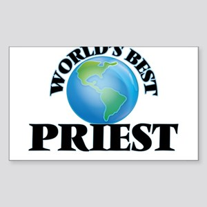 World's Best Priest Sticker