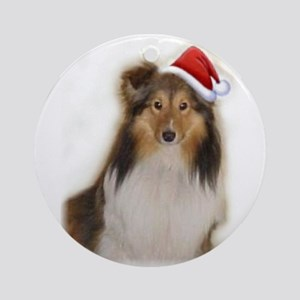 Beautiful Sable Sheltie Ornament (Round)