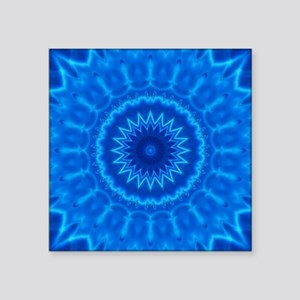 Blue Water Mandala Sticker