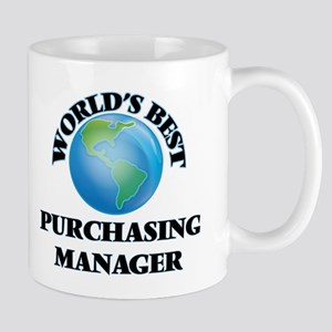 World's Best Purchasing Manager Mugs