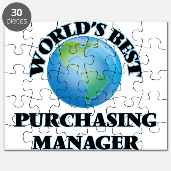 World's Best Purchasing Manager Puzzle