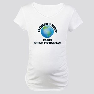 World's Best Radio Sound Technic Maternity T-Shirt