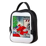 Santa's G-string Neoprene Lunch Bag