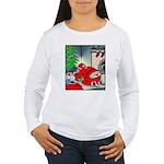 Santa's G-string Long Sleeve T-Shirt