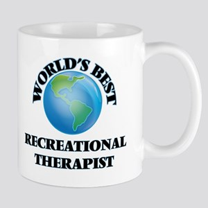 World's Best Recreational Therapist Mugs