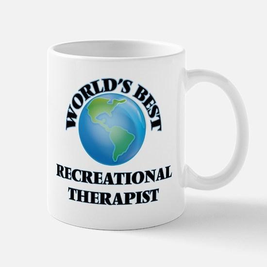 World's Best Recreational Therapist Mugs