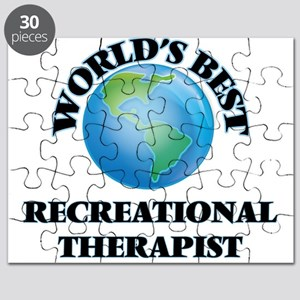 World's Best Recreational Therapist Puzzle