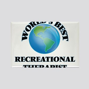 World's Best Recreational Therapist Magnets