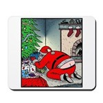Santa's Butt crack Mousepad
