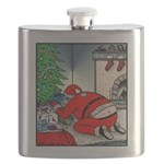 Santa's Butt crack Flask