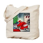 Santa's Butt crack Tote Bag