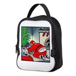 Santa's Butt crack Neoprene Lunch Bag