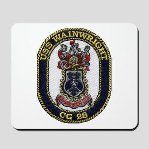 USS WAINWRIGHT Mousepad