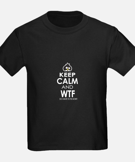 Keep Calm and WTF T-Shirt