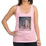Bolt and Nut Valentine's Day Racerback Tank Top