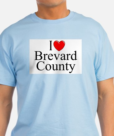 """I Love Brevard County"" T-Shirt"