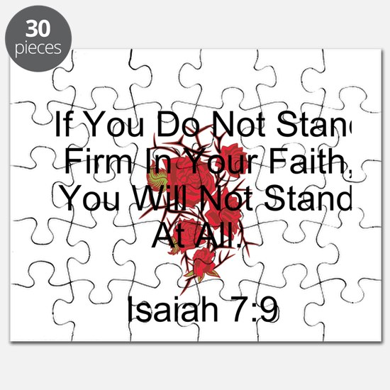 Stand Firm In Faith-Rose Puzzle