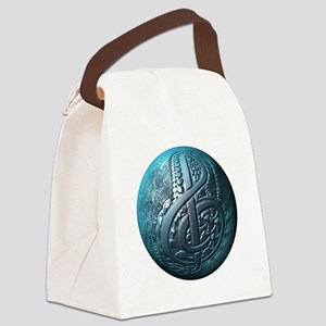 Music Makes the World Go Round Canvas Lunch Bag