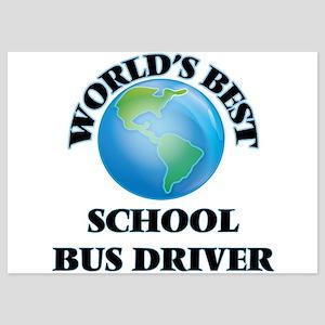 World's Best School Bus Driver Invitations