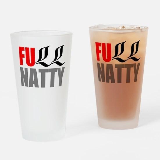 Full Natty Drinking Glass