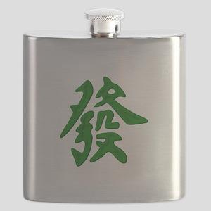Mahjong Green Dragon Flask