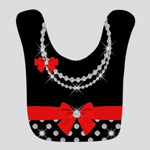 Diamond Diva Dots Bib