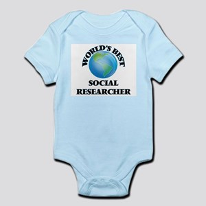 World's Best Social Researcher Body Suit