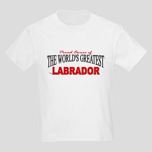 """The World's Greatest Labrador"" Kids Light T-Shirt"