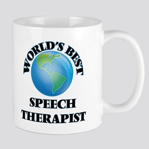 World's Best Speech Therapist Mugs