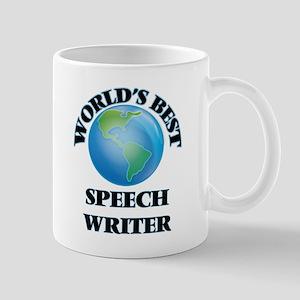 World's Best Speech Writer Mugs