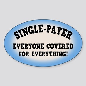 Everyone Covered Sticker (Oval)