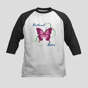 Retired Boss (Butterfly) Baseball Jersey