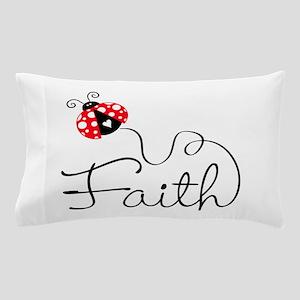 Ladybug Faith Pillow Case
