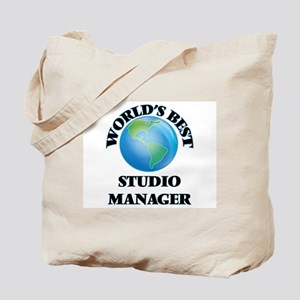 World's Best Studio Manager Tote Bag
