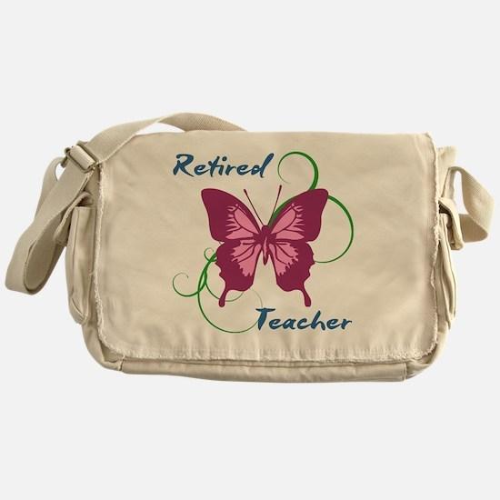 Retired Teacher (Butterfly) Messenger Bag
