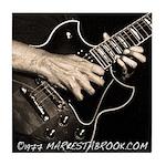 Guitar Hands Tile Coaster