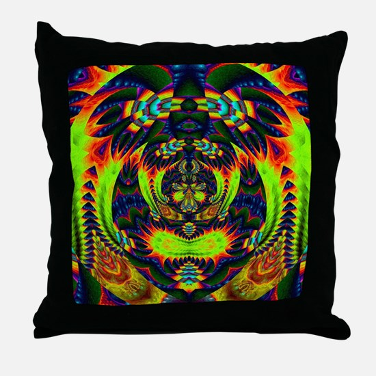 Psychedelic NeuLight n1 Throw Pillow
