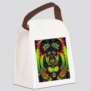 Psychedelic NeuLight n1 Canvas Lunch Bag