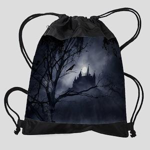Gothic Night Fantasy Drawstring Bag